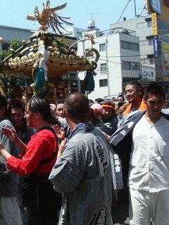 浅草三社祭行きました(^^)v